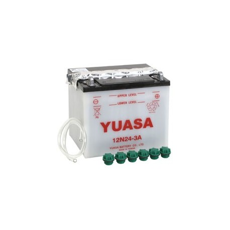 Batterie YUASA pour moto 12N24-3A