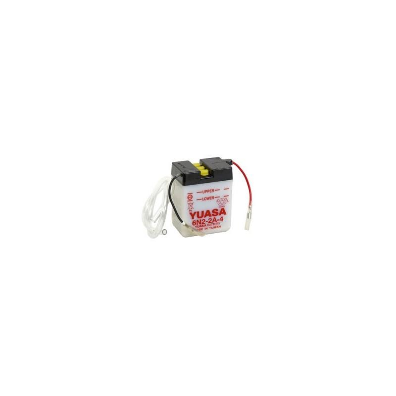 Batterie YUASA pour moto 6N2-2A-4