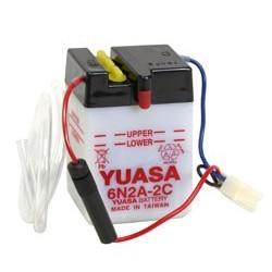 Batterie YUASA pour moto 6N2A-2C