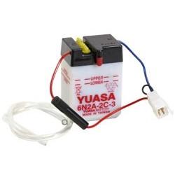 Batterie YUASA pour moto 6N2A-2C-3