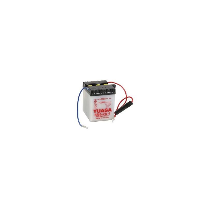 Batterie YUASA pour moto 6N4-2A-4