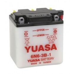 Batterie YUASA pour moto 6N6-3B-1