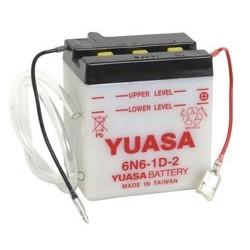 Batterie YUASA pour moto 6N6-1D-2