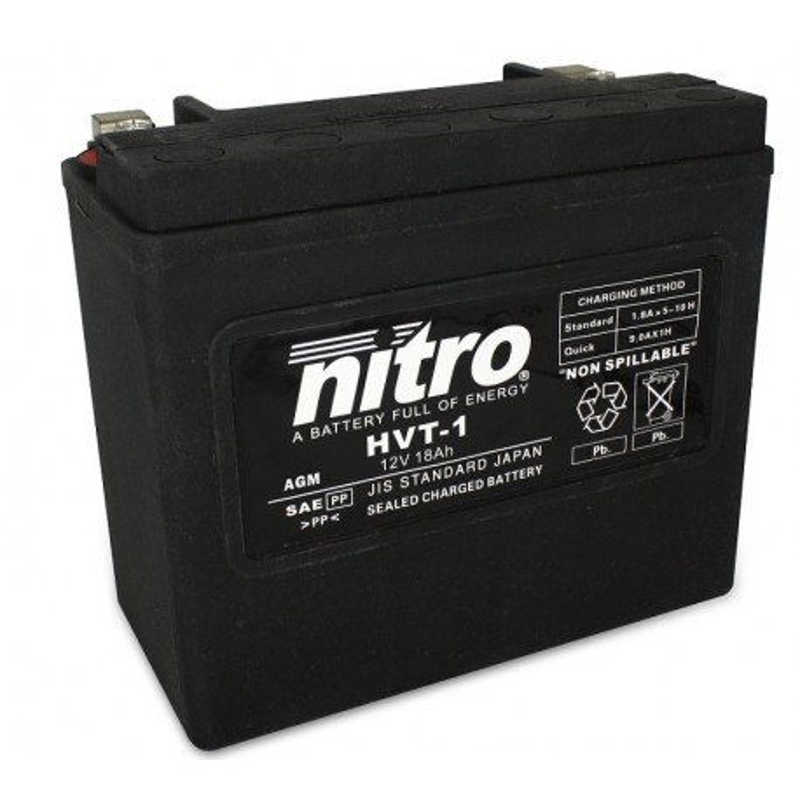 Batterie NITRO pour moto HVT 01