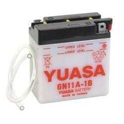Batterie YUASA pour moto 6N11A-1B