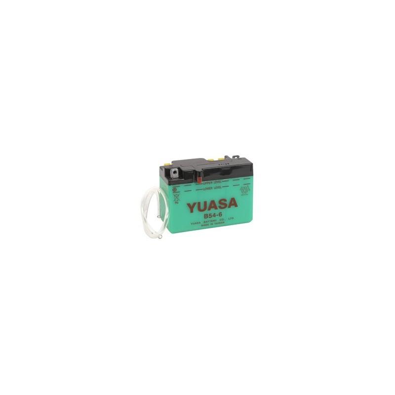 Batterie YUASA pour moto B54-6 (6N12A-2C)