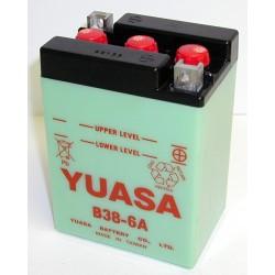 Batterie YUASA pour moto B38-6A