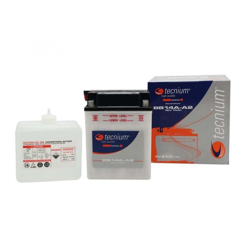 Batterie TECNIUM pour moto BB14A-A2