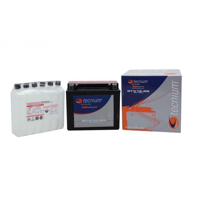 Batterie TECNIUM pour moto BT12A-BS