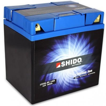 Batterie Lithium Ion SHIDO pour moto LIX30L-BS