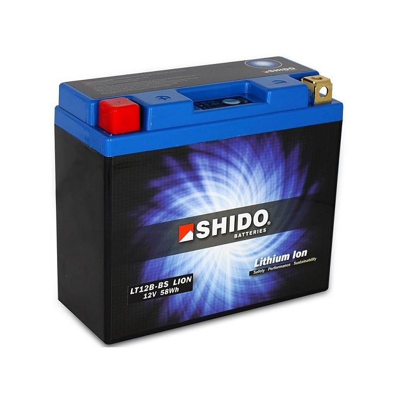retrouvez votre batterie lithium ion shido pour moto lt12b bs chez batterie de moto. Black Bedroom Furniture Sets. Home Design Ideas