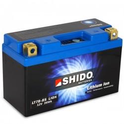 Batterie Lithium Ion SHIDO pour moto LT7B-BS