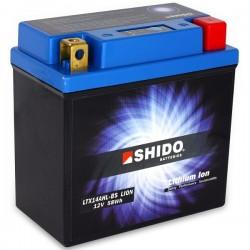 Batterie Lithium Ion SHIDO pour moto LTX14AHL-BS