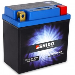 Batterie Lithium Ion SHIDO pour moto LTX14L-BS