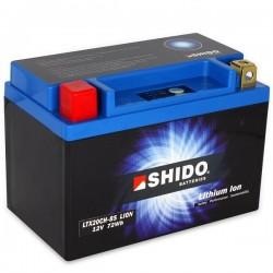 Batterie Lithium Ion SHIDO pour moto LTX20CH-BS