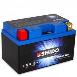 Batterie Lithium Ion SHIDO pour moto LTZ10S