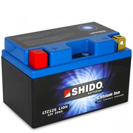 Batterie Lithium Ion SHIDO pour moto LTZ12S