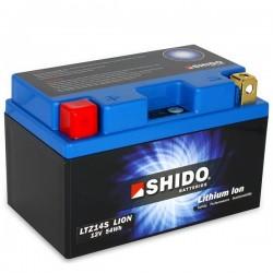 Batterie Lithium Ion SHIDO pour moto LTZ14S