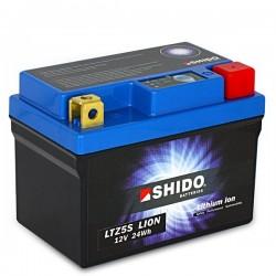 Batterie Lithium Ion SHIDO pour moto LTZ5S
