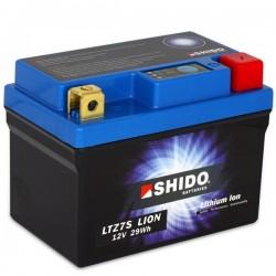 Batterie Lithium Ion SHIDO pour moto LTZ7S