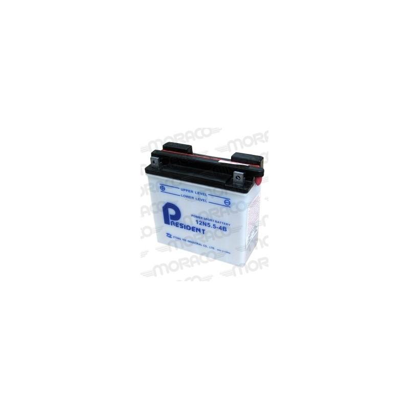 Batterie Moto GS 12N5.5-4B