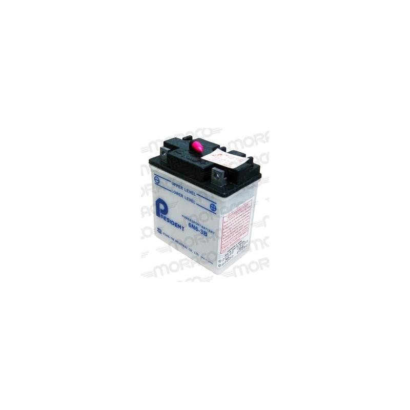 Batterie Moto GS 6N6-3B