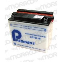 Batterie Moto GS CB16L-B