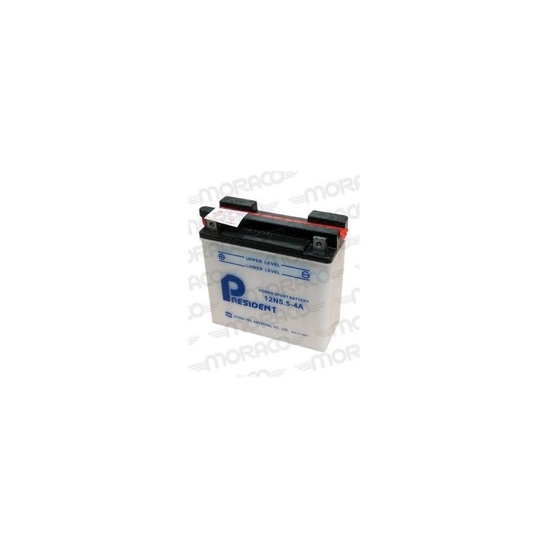 Batterie President 12N5.5-4A