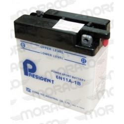 Batterie Moto President 6N11A-1B