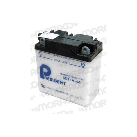 Batterie Moto President 6N11A-4A