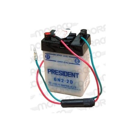 Batterie Moto President 6N2-2D