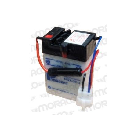 Batterie Moto President 6N2A-2C-3