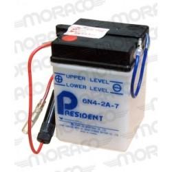 Batterie Moto President 6N4-2A-7