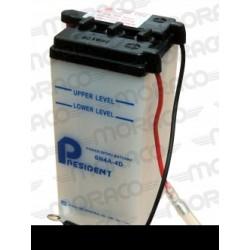 Batterie Moto President 6N4A-4DGS