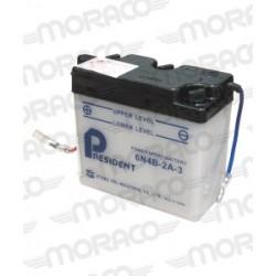Batterie President 6N4B-2A-3