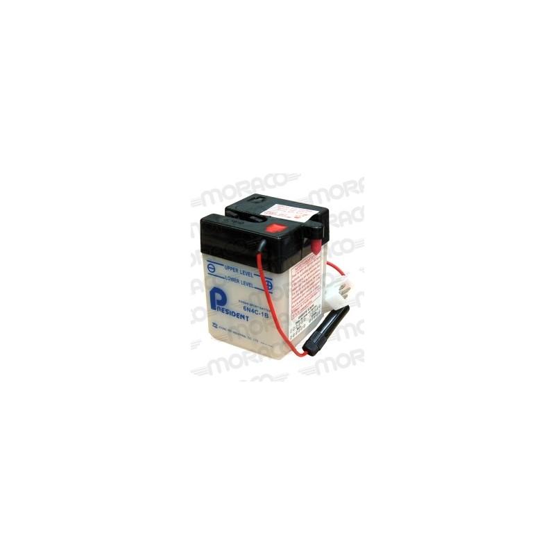 Batterie Moto President 6N4C-1B
