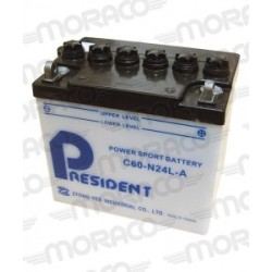 Batterie Moto President C60-N24L-A