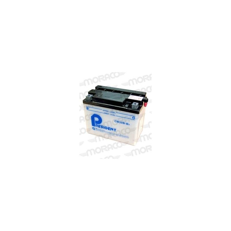 Batterie Moto President CB12B-B2