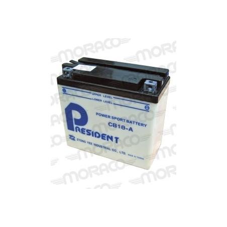 Batterie Moto President CB18-A