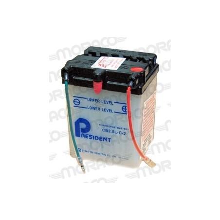 Batterie President CB2.5L-C2