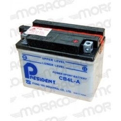 Batterie Moto President CB4L-A