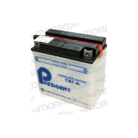 Batterie Moto President CB7-A