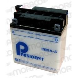 Batterie Moto President CB9A-A