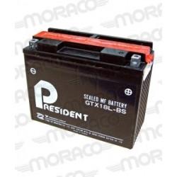 Batterie President GTX18L-BS