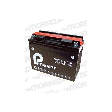 Batterie Moto President GTX18L-BS