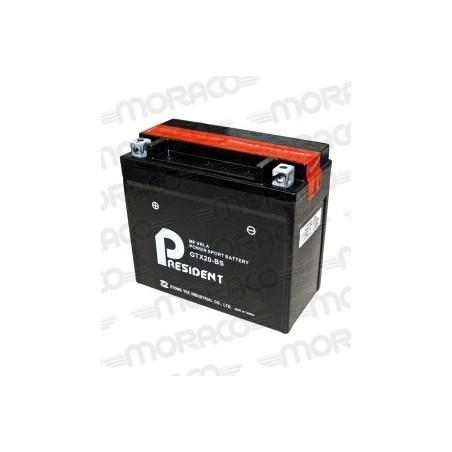 Batterie Moto President GTX20-BS