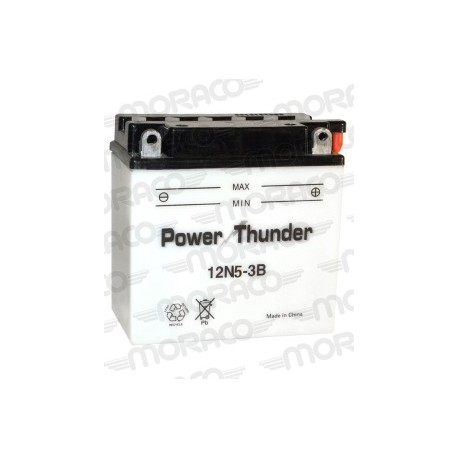 Batterie Moto Power Thunder 12N5-3B