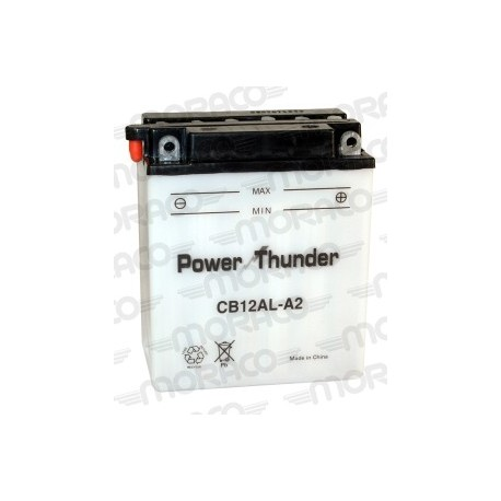 Batterie Moto Power Thunder CB12AL-A2