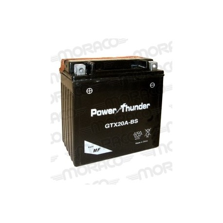 Batterie Moto Power Thunder GTX20A-BS