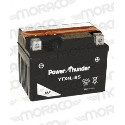Batterie Moto Power Thunder YTX4L-BS